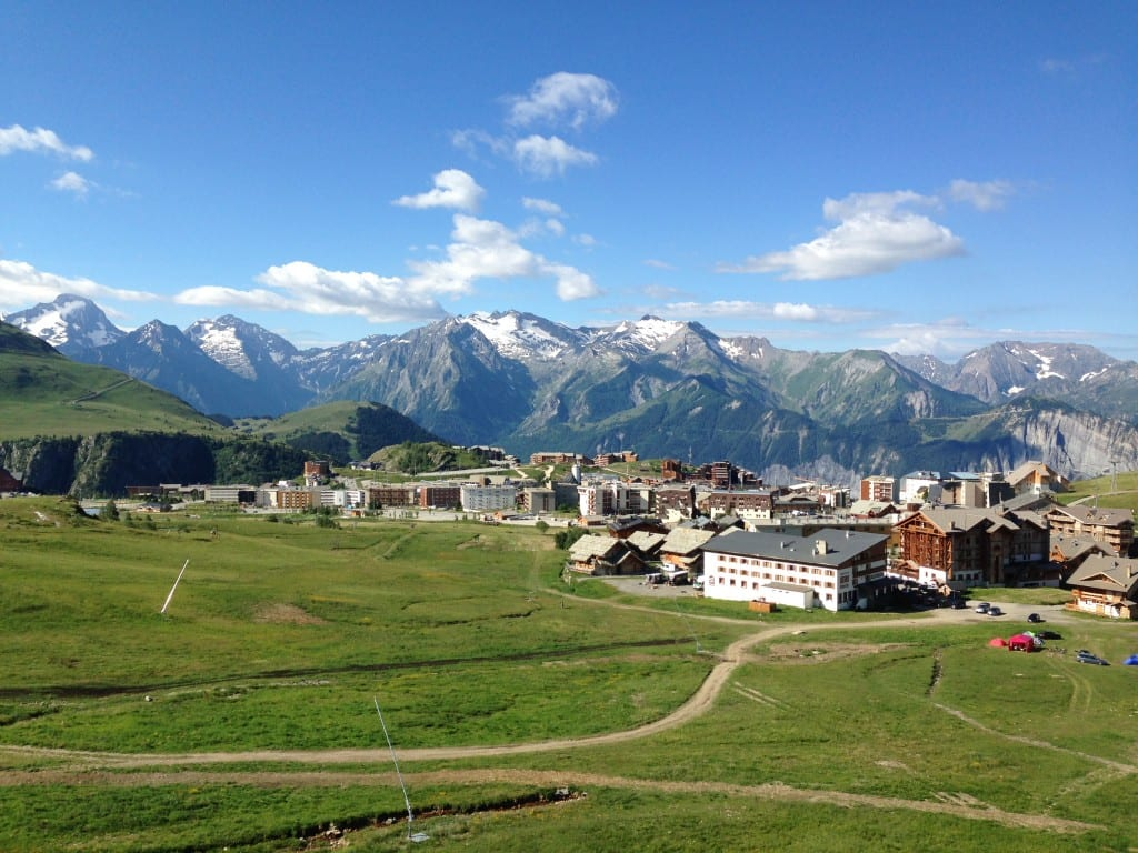 Alpe D Huez Mountain view Megavalanche